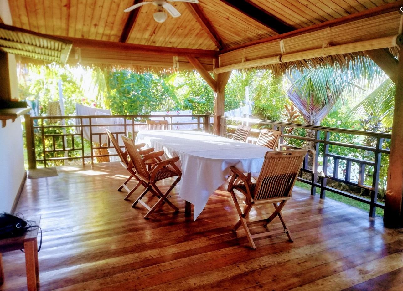 Location vacances maison Nosy Be, en bordure de mangrove et proche de la plage du Lotissement