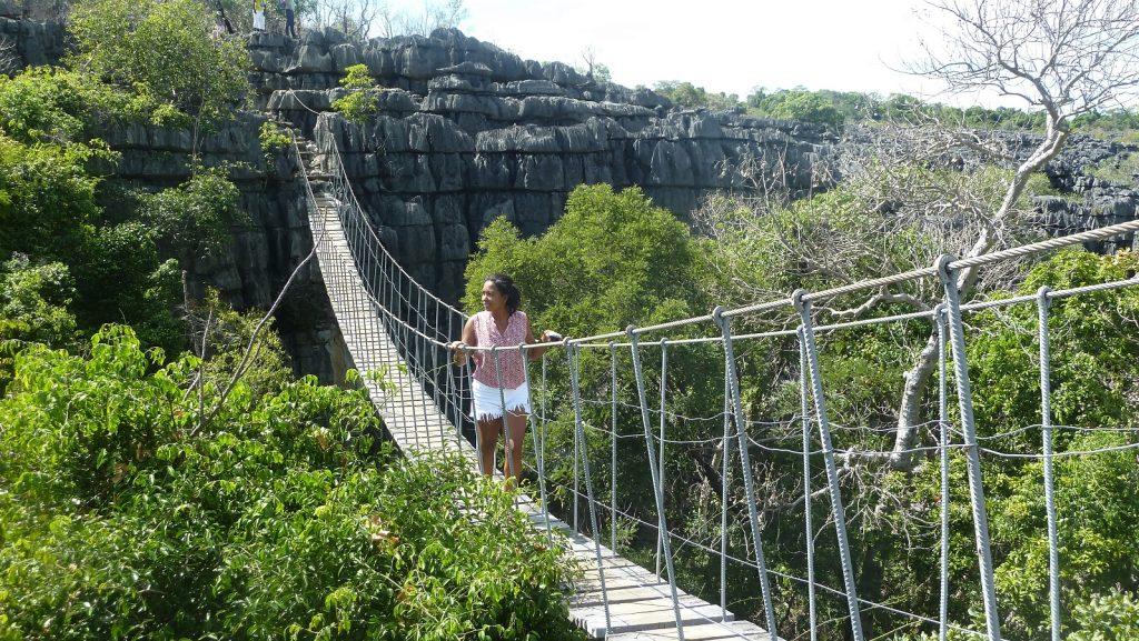 Pont de singe dans le massif de l'Ankarana