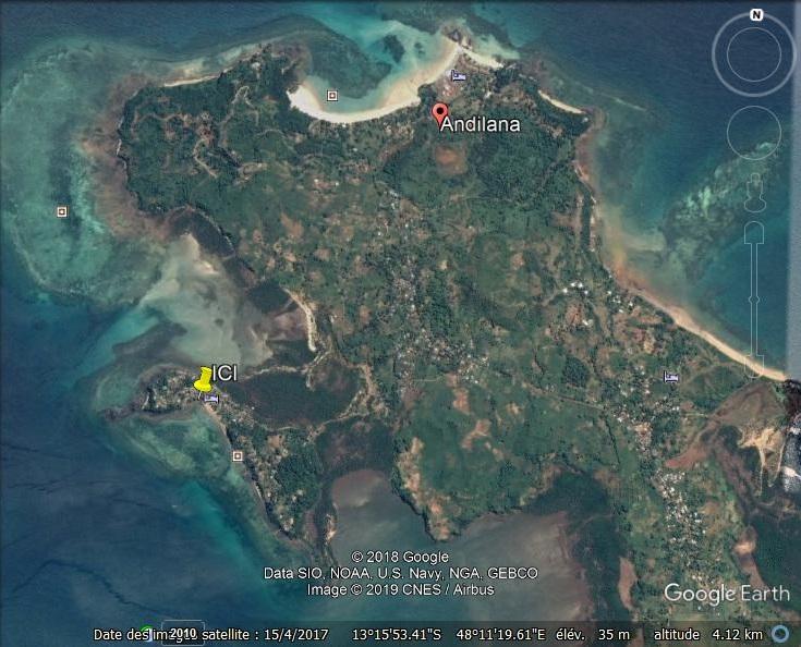 Louez au paradis en famille dans une nature préservée, une île à marée haute !