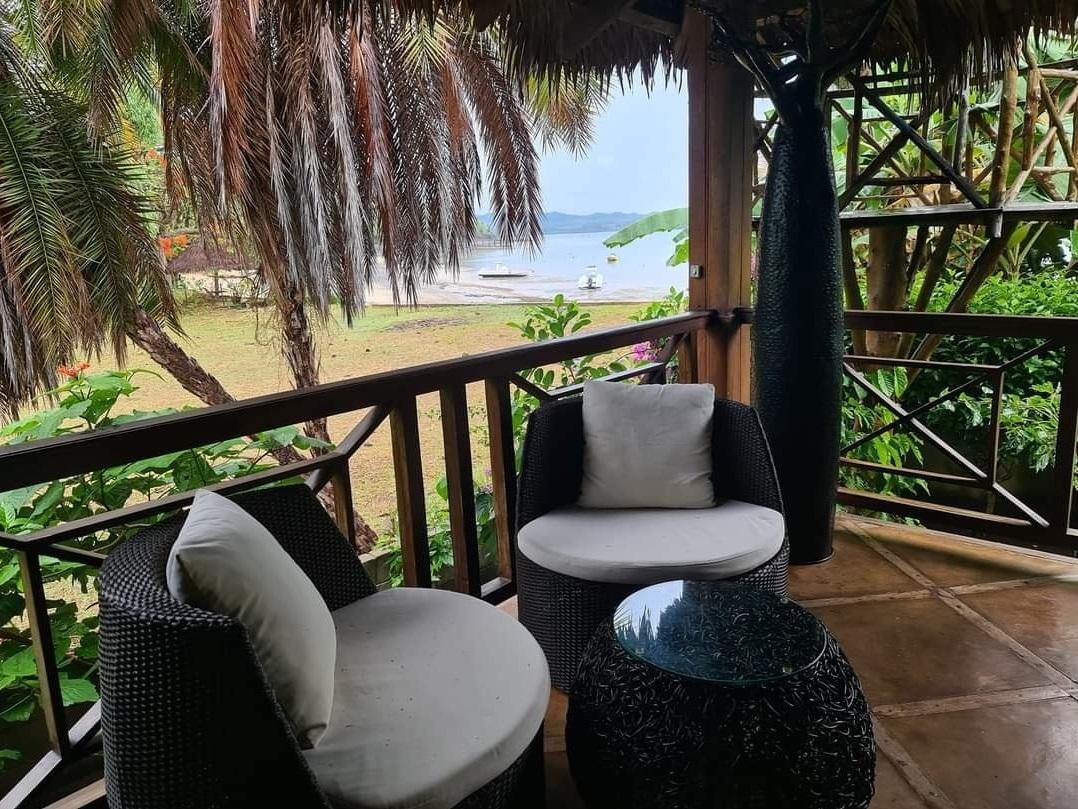 Location maison Nosy Be, calme, piscine et plage dans un super environnement